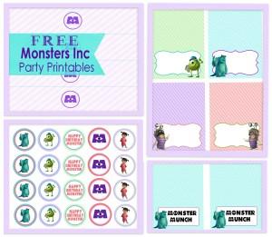 Monster Inc  Printable