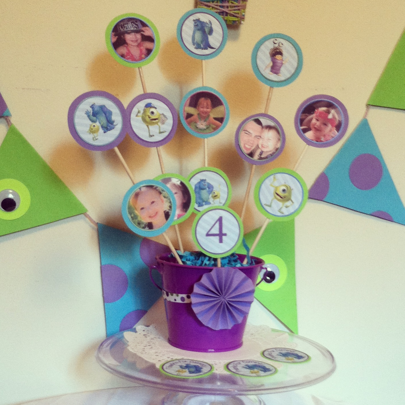 A Monsters Inc Party Free Party Printables Posh Tart