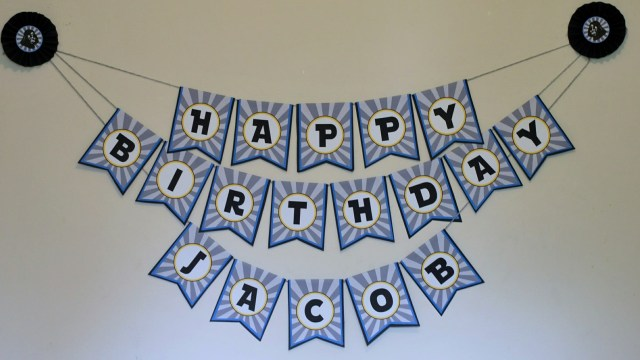 starwars birthday banner