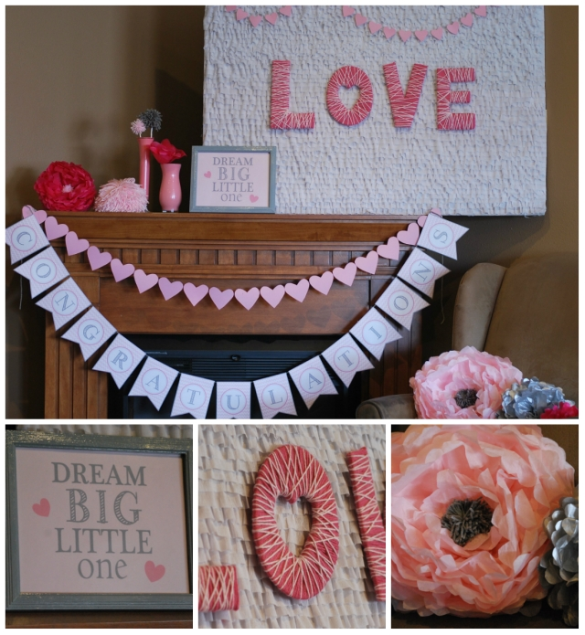 Baby Sprinkle LOVE backdrop