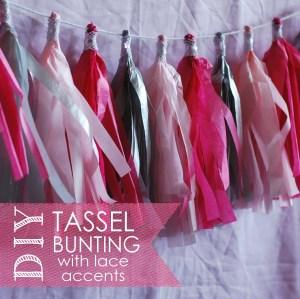 diy tassel bunting