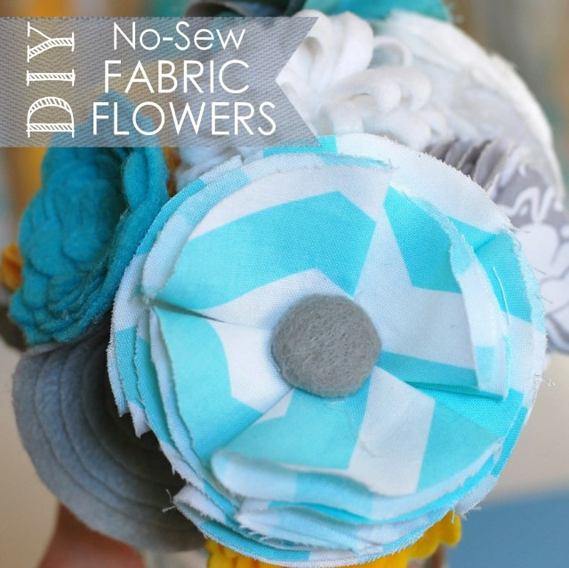 DIY no sew flowers
