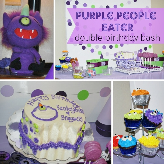 Purple People Eater Birthday Party
