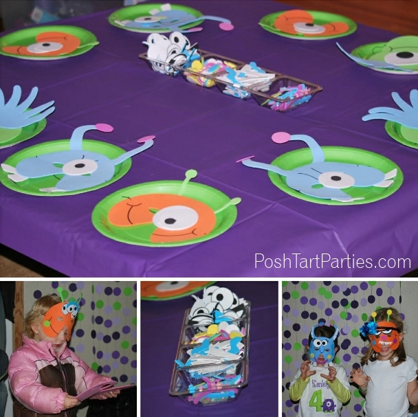 Monster Party Activities