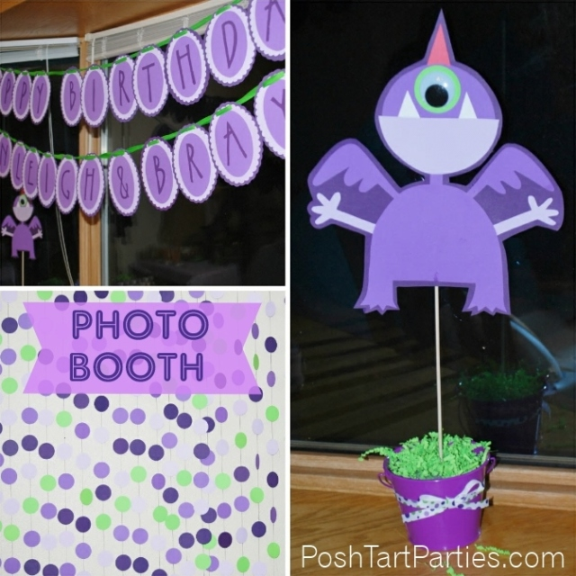 PPurple People Eater Monster Party