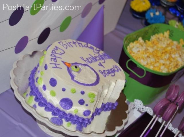 Purple People Eater Cake